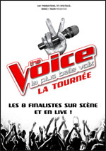 THE VOICE - LA TOURNEE LA PLUS BELLE VOIX - Concert Paris