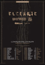 ULCERATE + WORMED + SOLACE OF REQUIEM + GIGAN + GUEST carrefour
