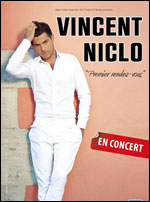 VINCENT NICLO  - Concert Paris