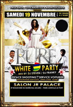 WHITE PARTY SOIREE DISCOTHEQUE