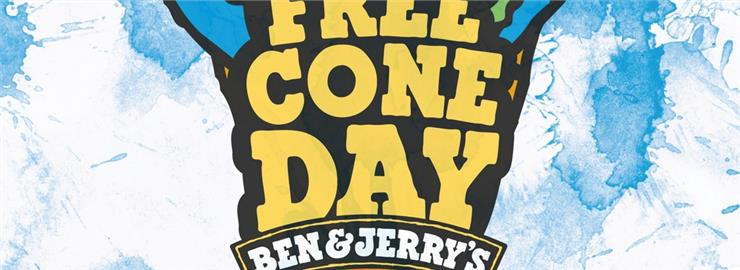 Free Cone Day 2014 by Ben & Jerry's