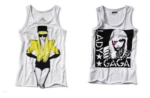 New Yorker propose une collection de tee-shirts Lady Gaga