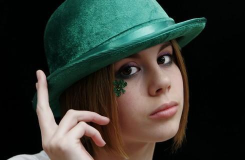 maquillage femme saint patrick