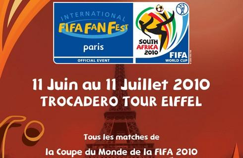 Ouverture officielle du Village de la Coupe du monde à Paris le 11 juin à 12h