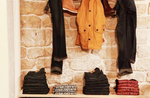 timberland ouvre une boutique ph m re d di e au recyclage paris shopping. Black Bedroom Furniture Sets. Home Design Ideas