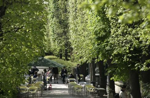 Un caf au coeur du jardin du mus e rodin de paris for Cafe du jardin london