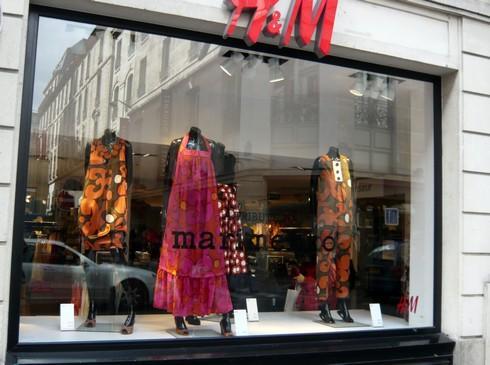 Un deuxi me magasin h m sur le boulevard haussmann shopping - Trouver un magasin h m ...