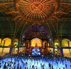 La plus grande patinoire au monde de retour sous la nef du Grand Palais