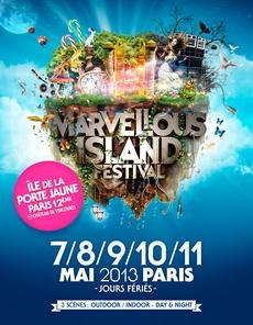MARVELLOUS ISLAND le nouveau festival Electro Parisien