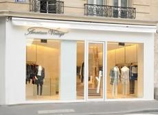 Magasin American Vintage Paris