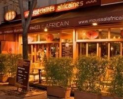 Moussa l 39 africain restaurant paris - Restaurant africain porte de clignancourt ...